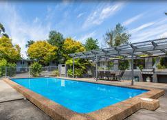 天空骑士汽车旅馆 - 卡通巴 - 游泳池