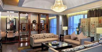 上海宏安瑞士大酒店 - 上海 - 客厅