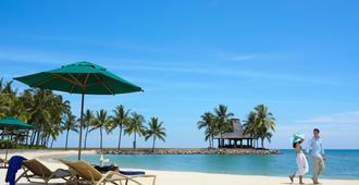 香格里拉丹绒亚路度假酒店及水疗中心 - 亚庇 - 海滩