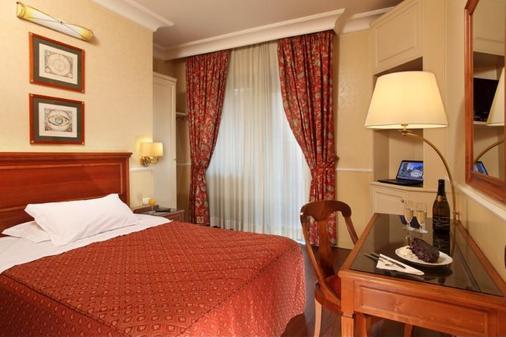 克里斯多福哥伦布旅馆 - 罗马 - 睡房