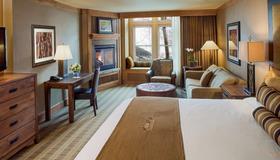 杰克逊霍尔怀俄明州酒店 - 杰克逊 - 睡房