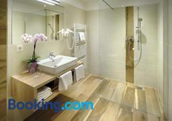 奥博希霍夫酒店 - Sankt Gilgen - 浴室