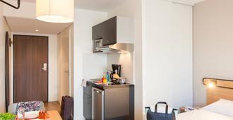 南锡中心阿德吉奥阿克瑟斯公寓式酒店 - 南锡 - 睡房