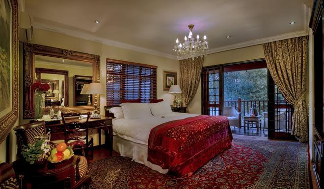 绿洲精品酒店 - 约翰内斯堡 - 睡房
