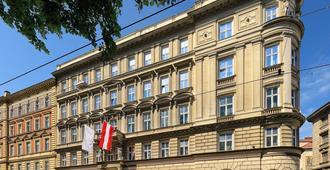 贝尔维尤酒店 - 维也纳 - 建筑