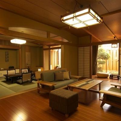 月亭酒店 - 下田市 - 客厅