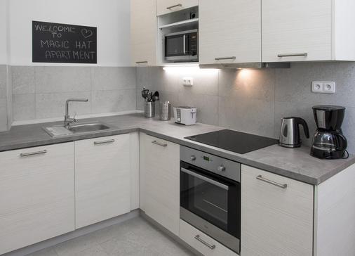 7个传说套房公寓 - 布拉格 - 厨房