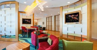 圣何塞机场春季山丘套房酒店 - 圣何塞 - 大厅
