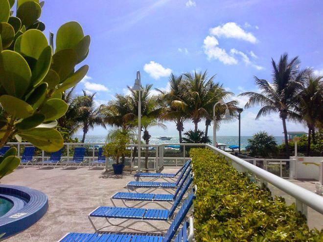 贝斯特韦斯特大西洋海滩度假酒店 - 迈阿密海滩 - 游泳池