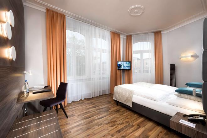 威廉选帝侯大街贝斯特韦斯特酒店 - 卡塞尔 - 睡房