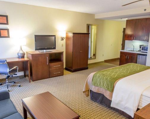 凯富酒店 - 哈蒙德(路易斯安那州) - 睡房