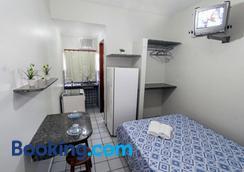 柏萨德普拉亚公寓 - 纳塔尔 - 睡房