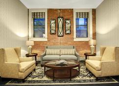 基恩市中心万豪酒店旗下费尔菲尔德套房酒店 - 基恩 - 休息厅