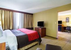 市中心凯富酒店 - 克利夫兰 - 睡房