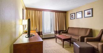 克利夫兰市中心舒适酒店 - 克利夫兰 - 客厅