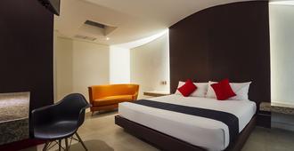 首都 O 拉别墅酒店 - 墨西哥城 - 睡房