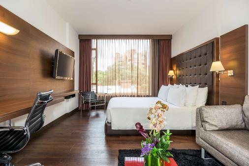 波哥大安蒂诺皇家精选nh酒店 - 波哥大 - 睡房