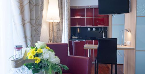 克朗尤特斯特拉斯酒店 - 苏黎世 - 厨房