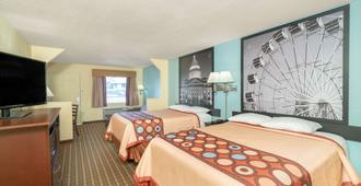 麦凯恩速8酒店 - 北小石城 - 睡房