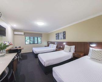 岩石度假村汽车旅馆 - 洛坎普顿 - 睡房