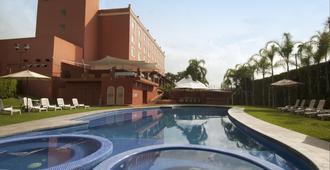 库埃纳瓦卡费斯塔客栈酒店 - 库埃纳瓦卡 - 游泳池