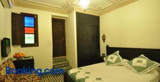 里亚德萨拉姆菲斯酒店 - 非斯 - 睡房