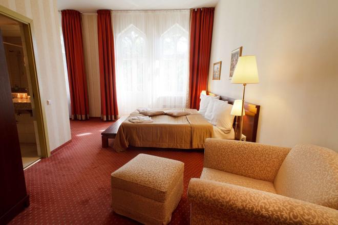 莫妮卡中心酒店 - 里加 - 睡房