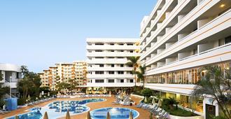 珊瑚 SPA 套房酒店 - 美洲海滩 - 阳台