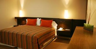 蓝带马德普拉塔酒店 - 门多萨 - 睡房