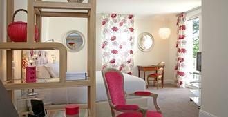拉里塞尔维亚酒店 - 阿尔比 - 睡房