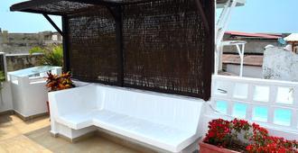 花园家庭旅馆 - 卡塔赫纳 - 阳台