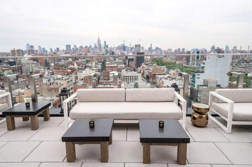 纽约鲍威利50酒店 - 纽约 - 阳台