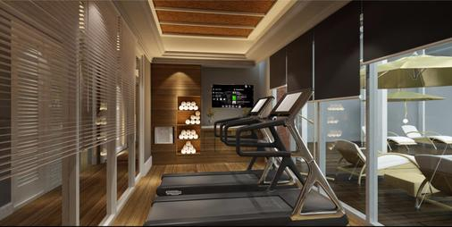 巴厘沙努尔奥利亚酒店 - 登巴萨 - 健身房