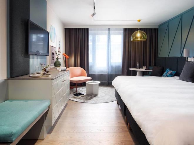 丽笙蓝光酒店-斯堪的纳维亚 - 哥德堡 - 睡房