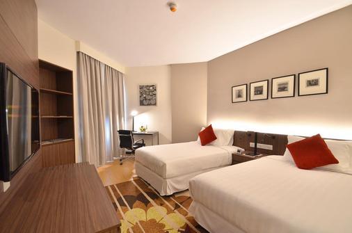 游牧苏卡萨全套房酒店 - 吉隆坡 - 睡房