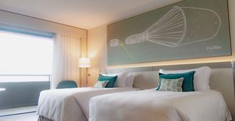 巴西利亚阿尔沃拉达皇家郁金香酒店 - 巴西利亚 - 睡房