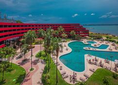巴西利亚阿尔沃拉达皇家郁金香酒店 - 巴西利亚 - 游泳池