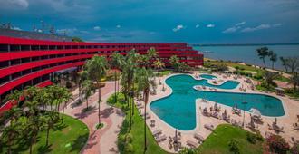 巴西利亞阿爾沃拉達皇家鬱金香酒店 - 巴西利亚 - 游泳池