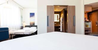 巴塞尔市诺富特酒店 - 巴塞尔 - 睡房