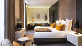 希尔顿 D 斯塔伯格酒店 - 斯特拉斯堡 - 睡房