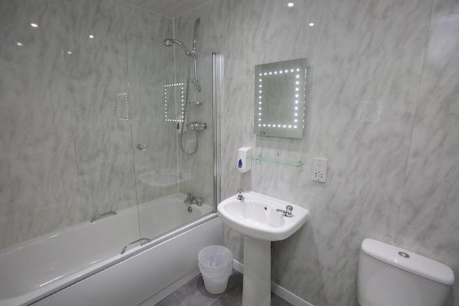 默钱特城市酒店 - 格拉斯哥 - 浴室