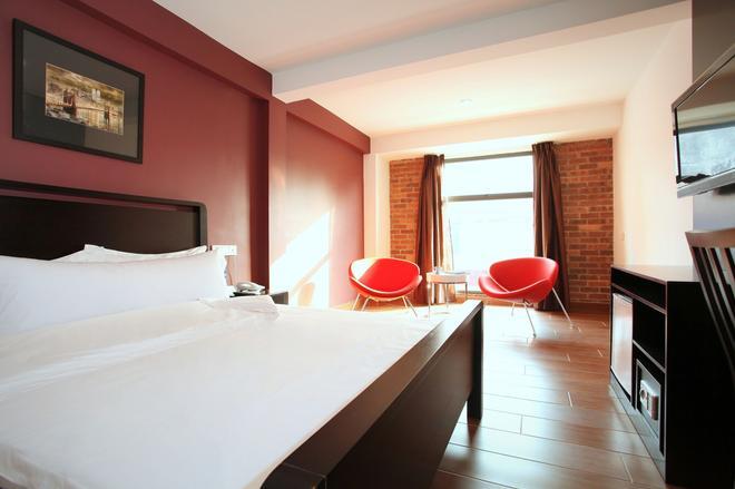 十字路口酒店 - 吉隆坡 - 睡房