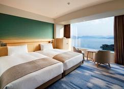 广岛格兰王子大饭店 - 广岛 - 睡房