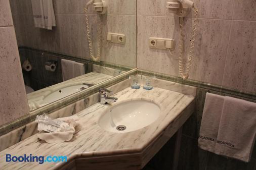 赫拉杜拉酒店 - 圣地亚哥-德孔波斯特拉 - 浴室