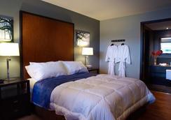 森特罗汽车旅馆 - 卡尔加里 - 睡房