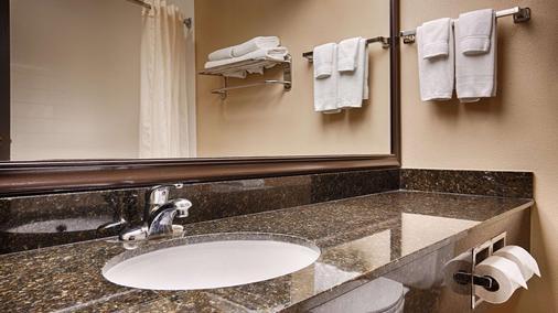 最佳西方Plus米沙沃卡旅馆 - 米沙沃卡 - 浴室