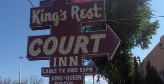 King's Rest Court Inn - 圣达菲 - 户外景观