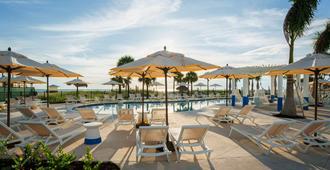 西拉塔海滩度假酒店 - 圣皮特海滩 - 露台