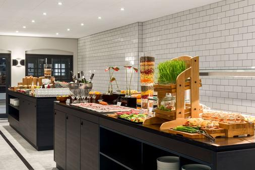 阿姆斯特丹巴比松宫nh精选酒店 - 阿姆斯特丹 - 自助餐