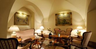 布拉格查尔斯酒店 - 布拉格 - 客厅